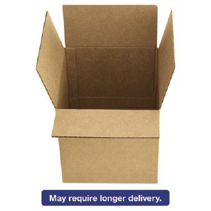 1296 | United Facility® Brown Corrugated - Fixed-depth Shipping Boxes, 12l  X 9w X 6h, 25/bundle 1296 Ufs1296 Pg 1132  UFS1296