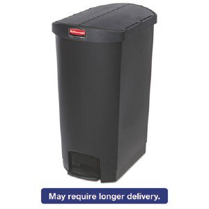 1883614 rubbermaid slim jim resin step on container for Slim jim air conditioner