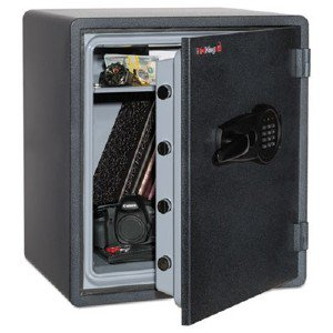 fireking security group ky19151grel one hour fire and water safe with electronic lock. Black Bedroom Furniture Sets. Home Design Ideas