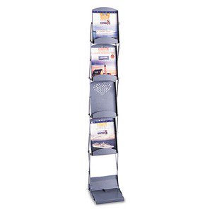 Safco Products Double Sided Folding Literature Display 4132GR
