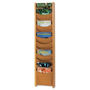 Safco Products 12 Pocket Wall Mount Literature Display 4331MO