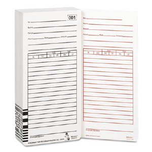 Acro Print Time Recorder Totalizing Payroll Recorder Time Card 099111000