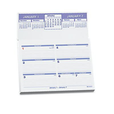 Sw705x 50 At A Glance 174 Flip A Week Desk Calendar