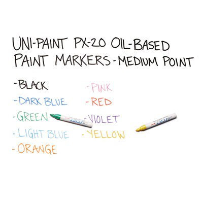 63607 sanford brands uni paint oil based medium marker san63607 Oil based exterior paint brands