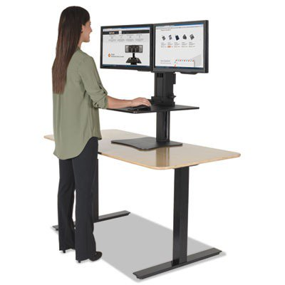 Dc350 Victor Technology 174 High Rise Dual Monitor Sit