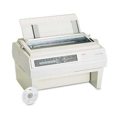 61800801 okidata174 pacemark 3410 dot matrix printer